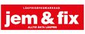 Logotyp Jem & Fix - Hus och trädgård